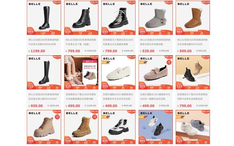 Các dòng giày hầm hố đến từ hãng giày nội địa Bella